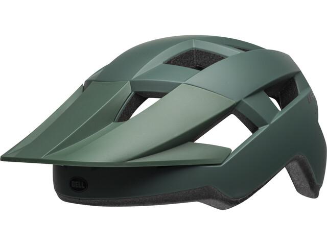 Bell Spark Cykelhjelm, matte dark green/black